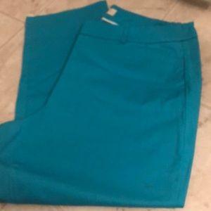 Teal size 16 pants